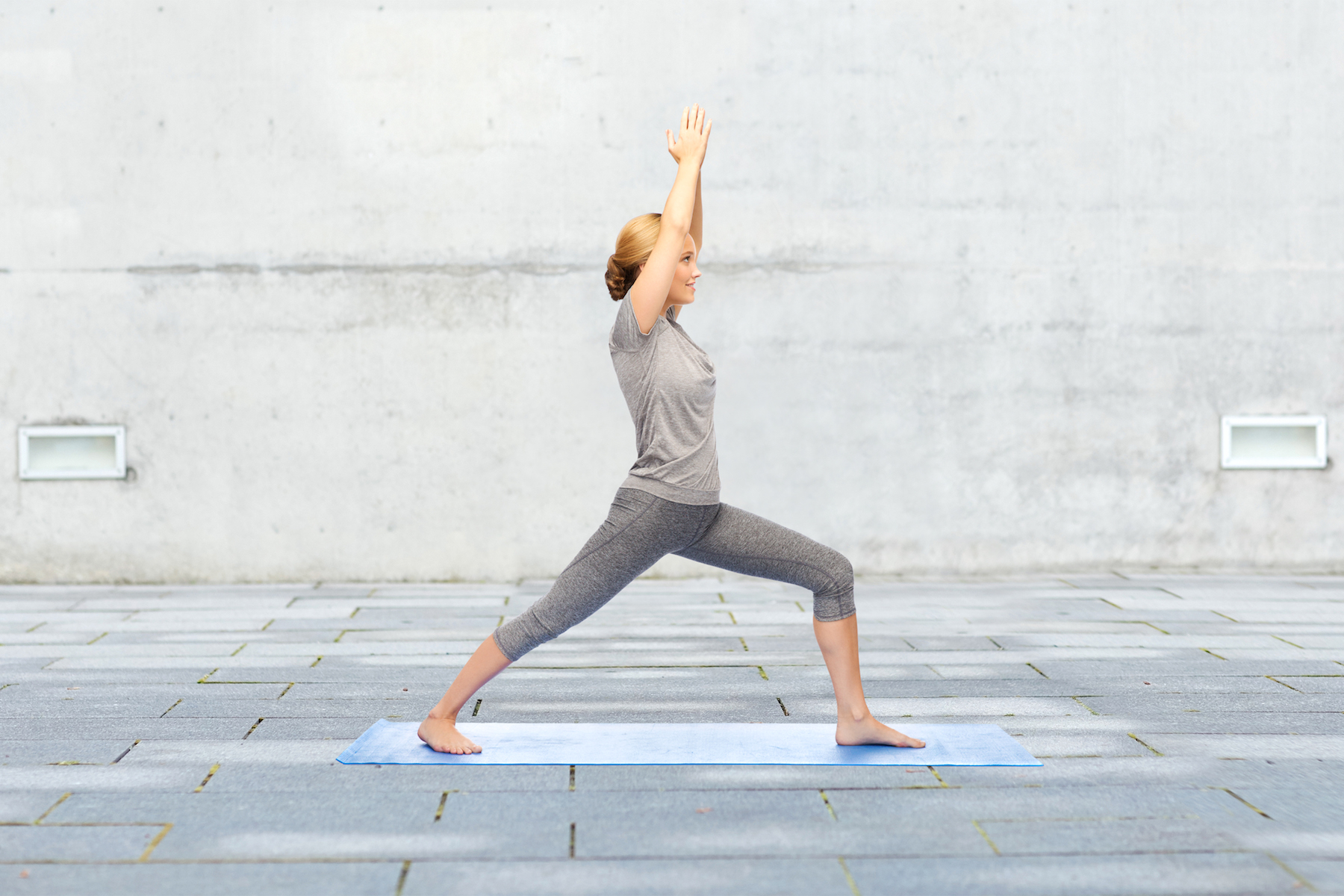 Hatha Yoga Warrior Pose for Beginners