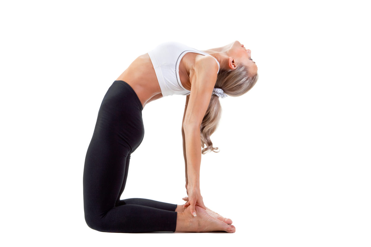 Camel Pose for Asthma