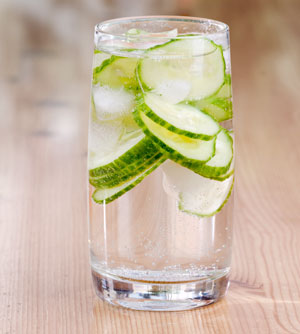 Water with Cucumbers - What Therapy