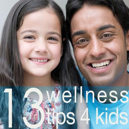 13 wellness tips for kids
