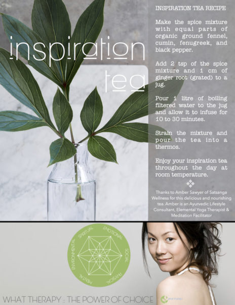 Inspiration Tea Recipe