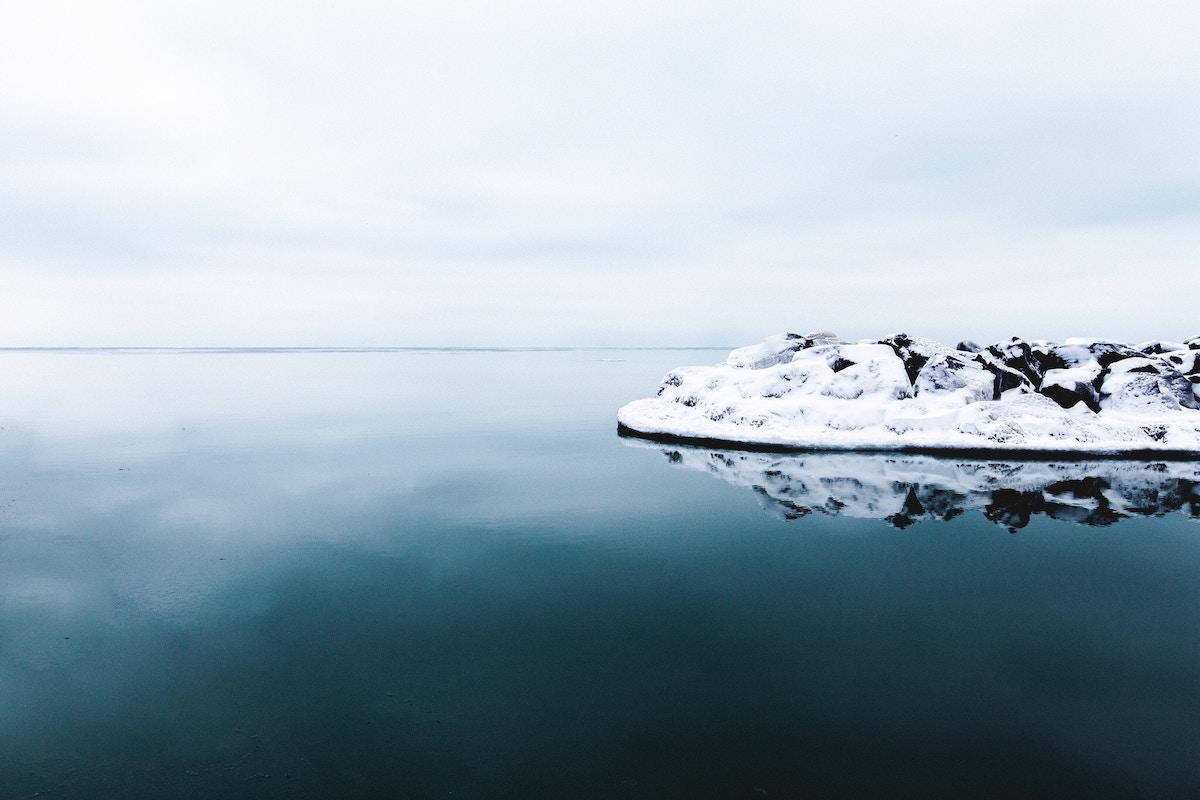Winter scene Water Element Winter