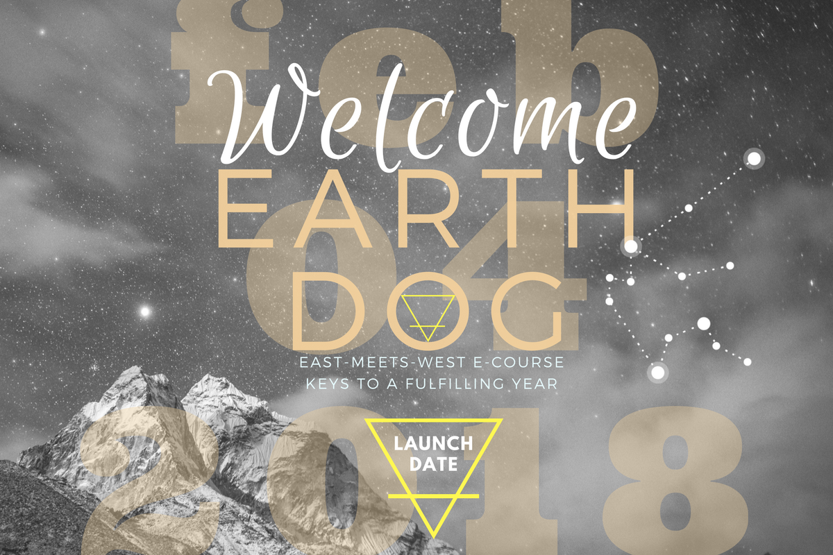 You're in! Welcome, Earth Dog starts Feb 4.