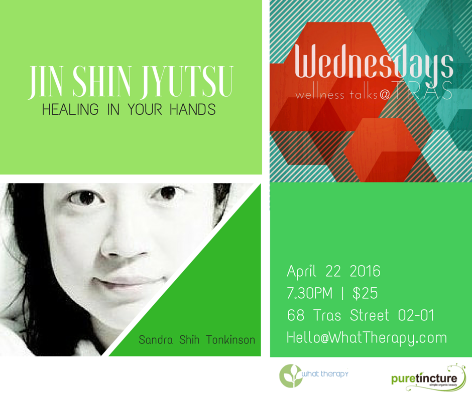 Sandra Shih on Jin Shin Jyutsu Health and Wellness Talk Singapore 2016