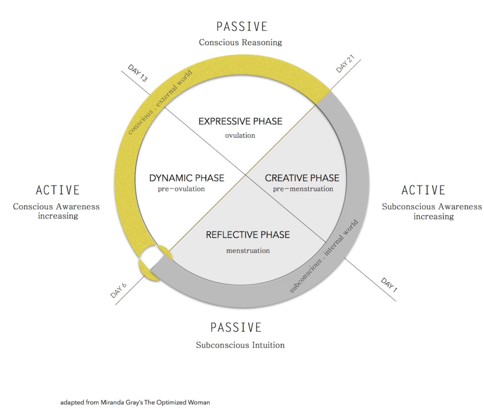 The Optimal Phases from Miranda Gray's The Optimized Woman
