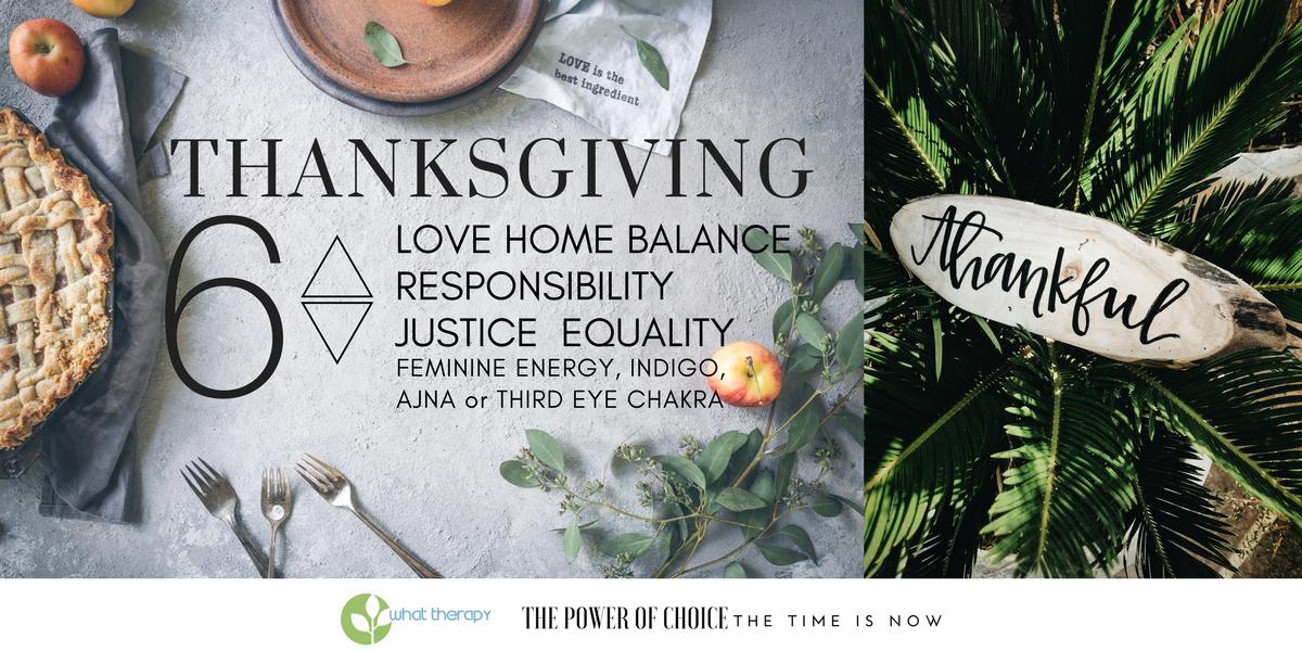 Thanksgiving Numerology